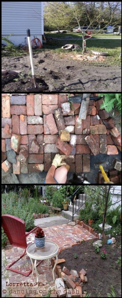 Brick and patio